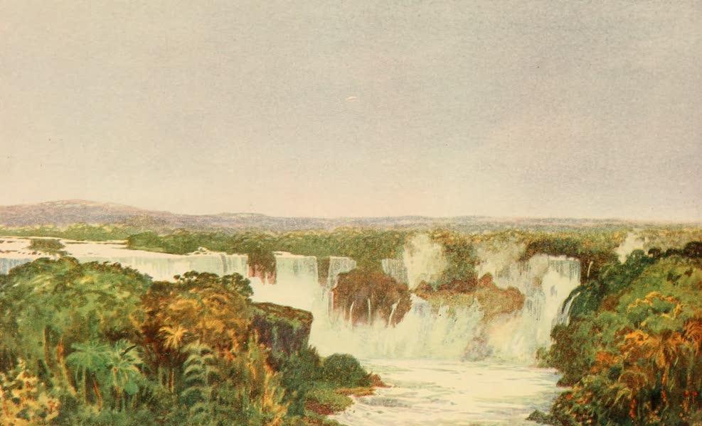 The Beautiful Rio de Janiero - View of the Falls of Iguassu (1914)
