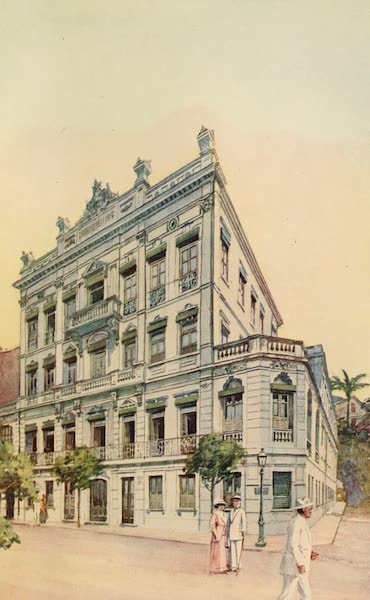 The Beautiful Rio de Janiero - Offices of the Leopoldina Railway (1914)
