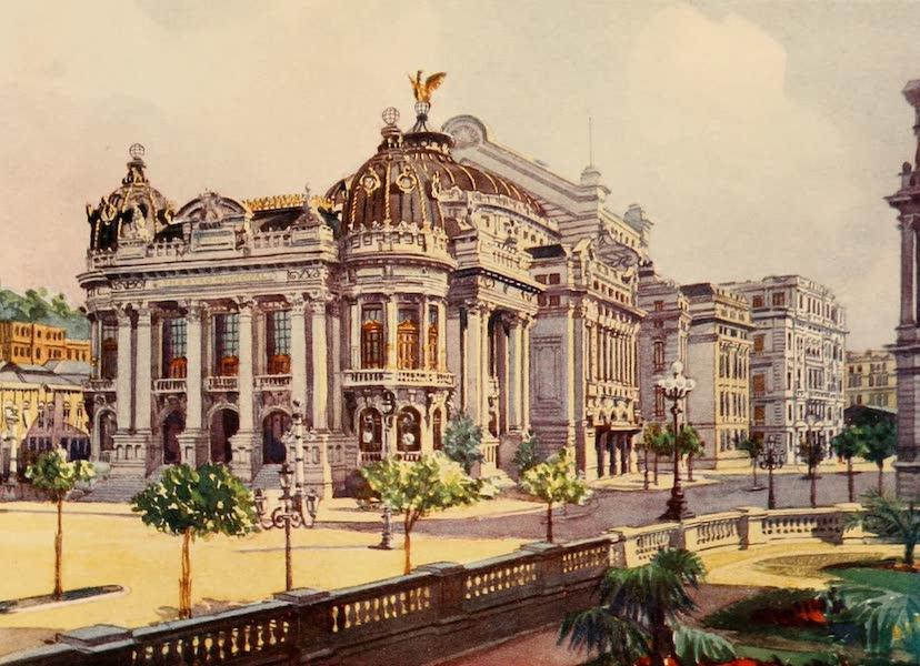 The Beautiful Rio de Janiero - Municipal Theatre, Avenida Rio Branco (1914)