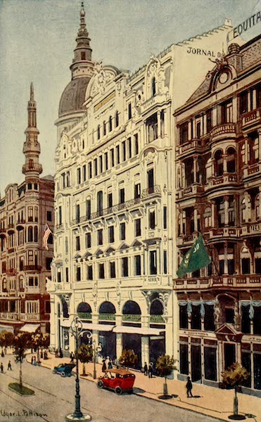 The Beautiful Rio de Janiero - Offices of the Jornal do Commercio (1914)