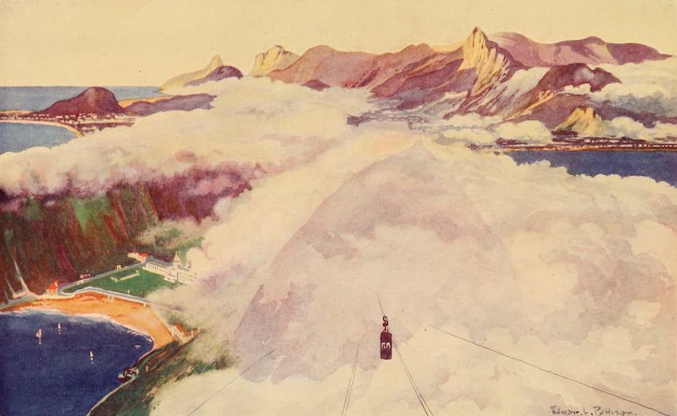 The Beautiful Rio de Janiero - Aerial Car descending from the Sugar Loaf Mount (1914)