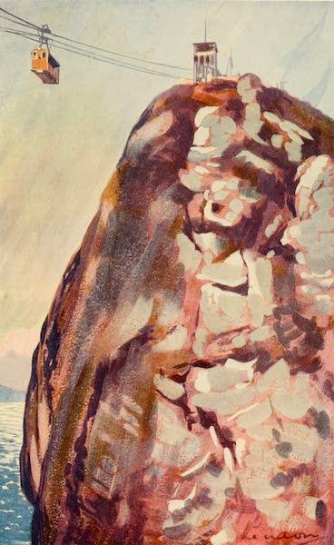 The Beautiful Rio de Janiero - Aerial Car reaching Summit of the Sugar Loaf (1914)