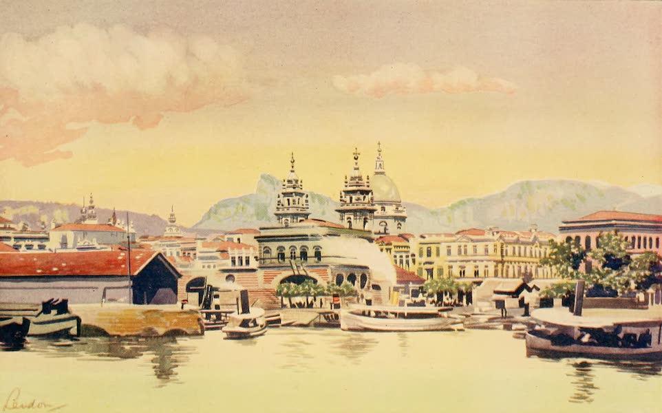 The Beautiful Rio de Janiero - Rio Customs Wharf (1914)