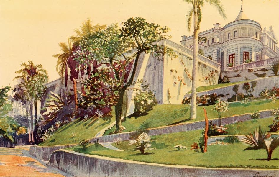The Beautiful Rio de Janiero - Residence of General Pinheiro Machado (1914)