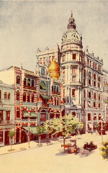 The Beautiful Rio de Janiero - Moorish Building and Mssrs. Guinle's Offices (1914)