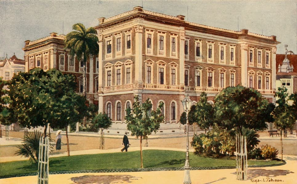 The Beautiful Rio de Janiero - Ministry of Traffic and Public Works (1914)