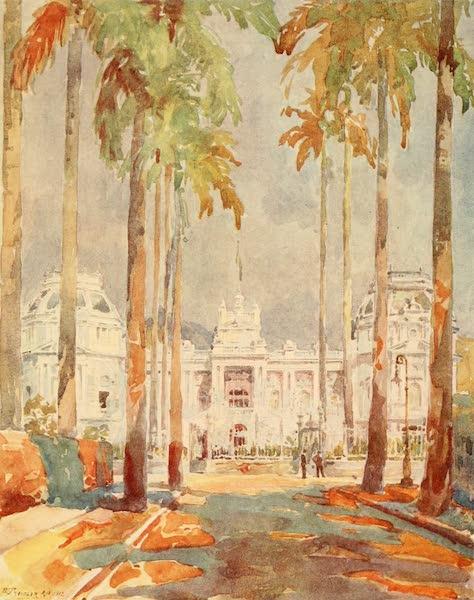 The Beautiful Rio de Janiero - Gaunabara Palace (1914)
