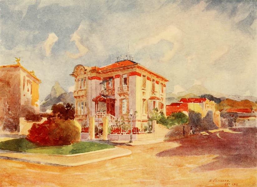 The Beautiful Rio de Janiero - Residence of Dr. Pedro de Toledo (1914)