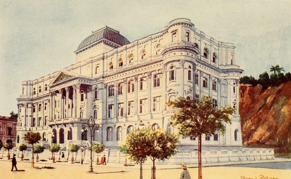 The Beautiful Rio de Janiero - The National Library (1914)