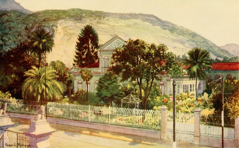 The Beautiful Rio de Janiero - Residence of Senator Ruy Barboza (1914)