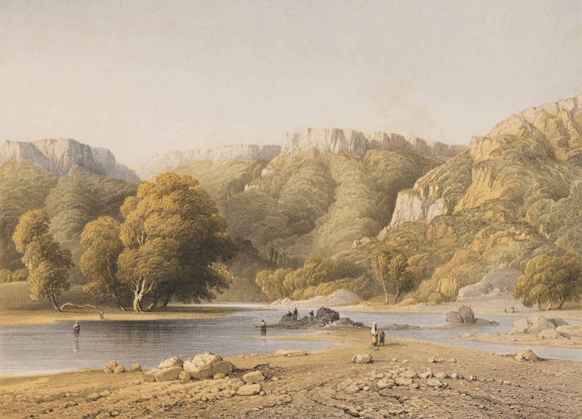 The Beautiful Scenery and Chief Places of Interest throughout the Crimea - The River Katcha (1856)