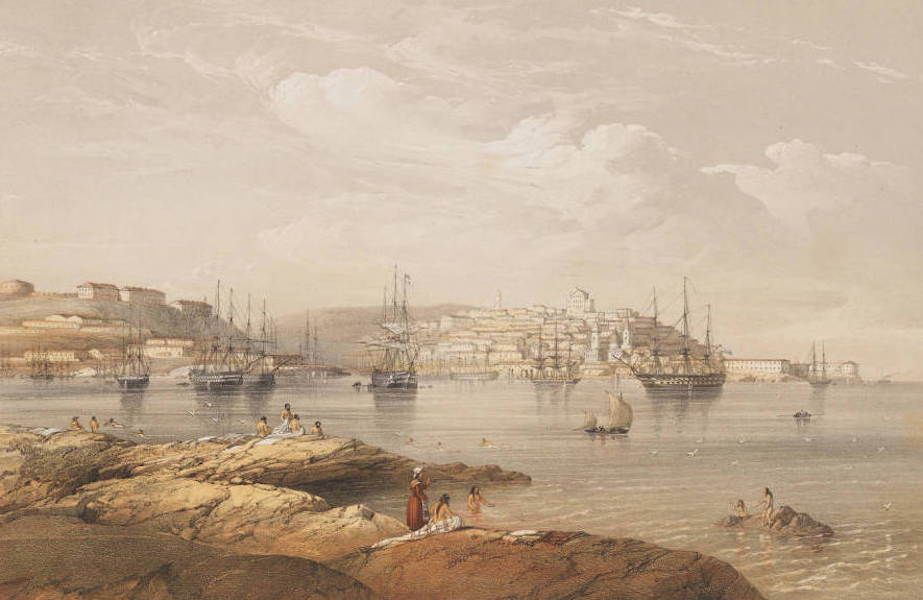 The Beautiful Scenery and Chief Places of Interest throughout the Crimea - Sebastopol, from the Northern Forts (1856)