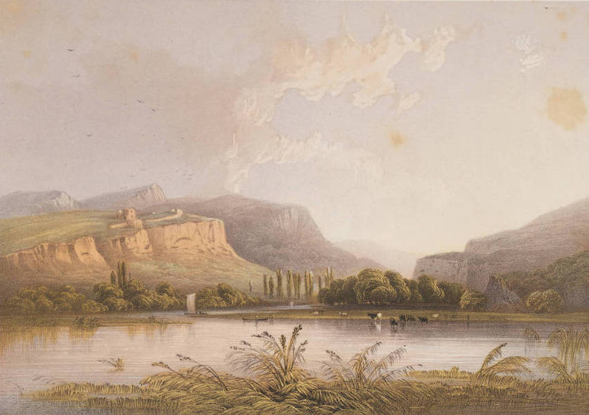 The Beautiful Scenery and Chief Places of Interest throughout the Crimea - Mouth of the Tchernaya River, at the bottom of Inkermann Bay, end of Sebastopol Harbour (1856)