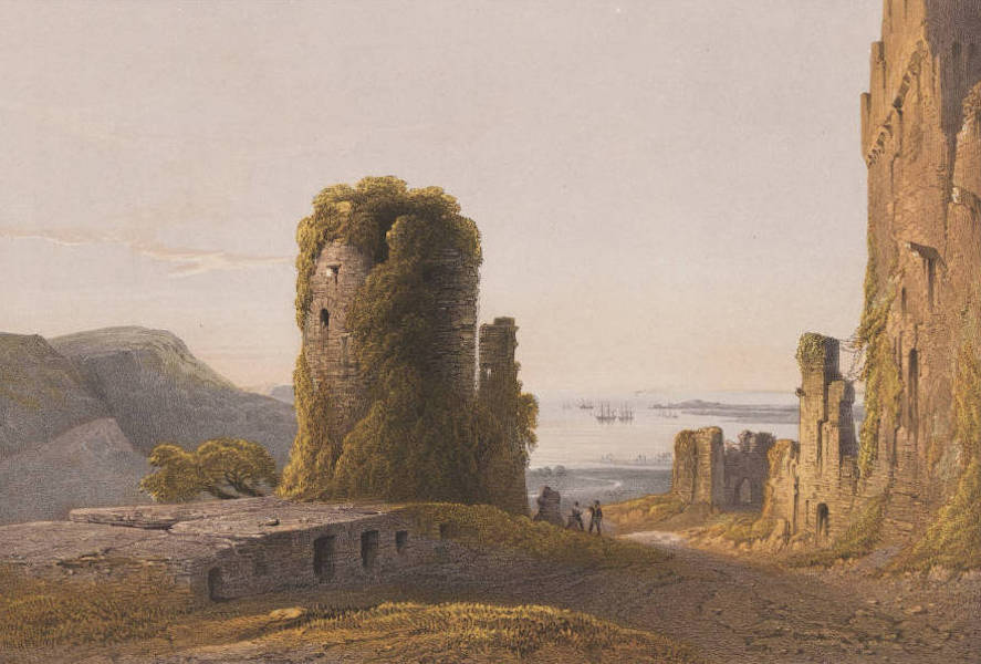 The Beautiful Scenery and Chief Places of Interest throughout the Crimea - Remains of Genoese Forts at Inkermann (1856)