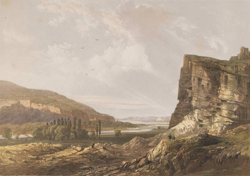 The Beautiful Scenery and Chief Places of Interest throughout the Crimea - View of the Valley of Inkermann (1856)