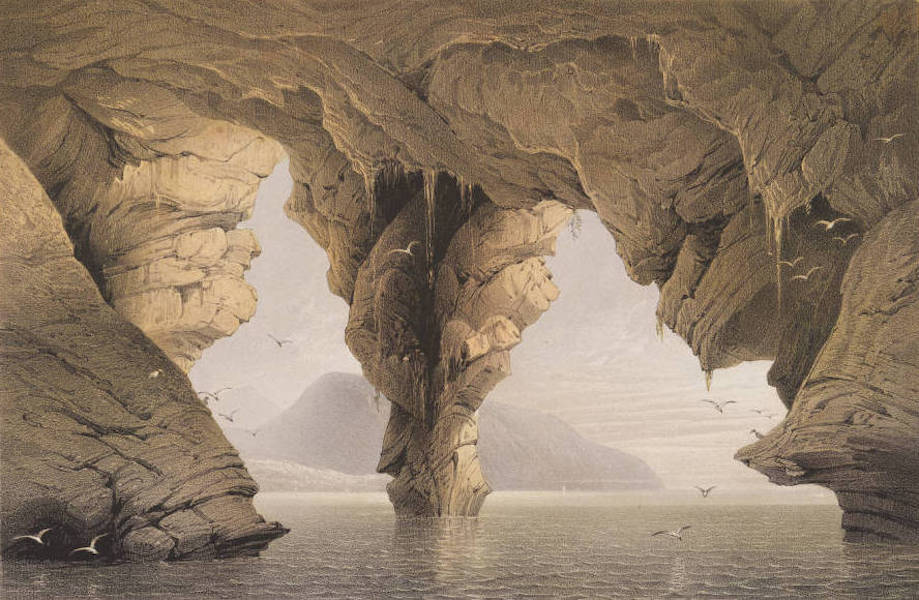 The Beautiful Scenery and Chief Places of Interest throughout the Crimea - The Grotto of Yursuf (1856)