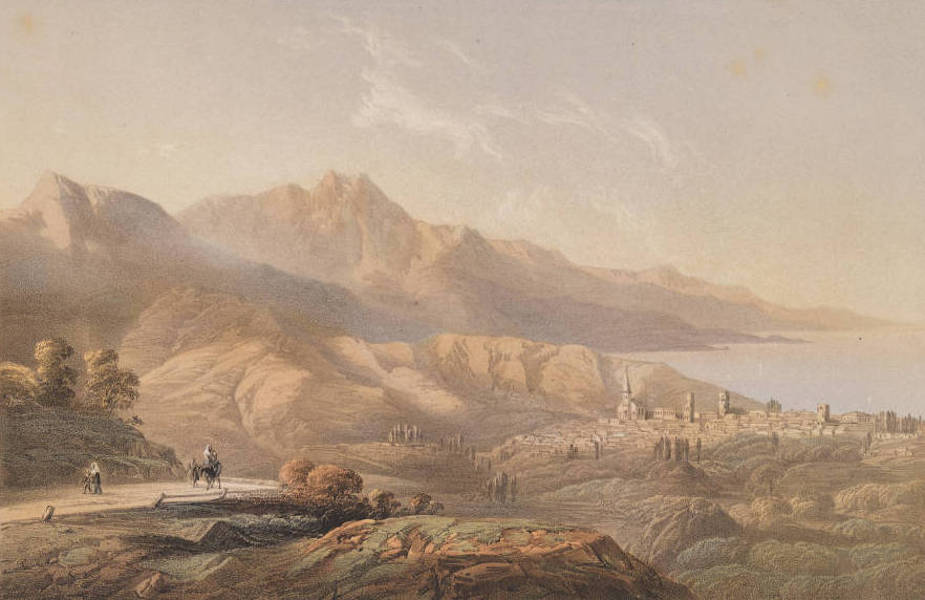 The Beautiful Scenery and Chief Places of Interest throughout the Crimea - Alushta (1856)