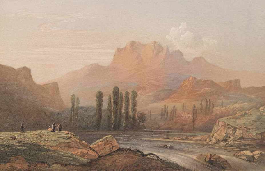 The Beautiful Scenery and Chief Places of Interest throughout the Crimea - The Valley of Temerd-Ji (1856)