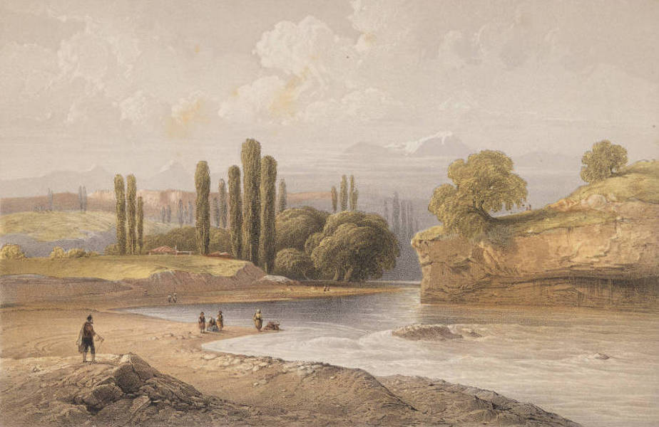 The Beautiful Scenery and Chief Places of Interest throughout the Crimea - The River Salghyr (1856)