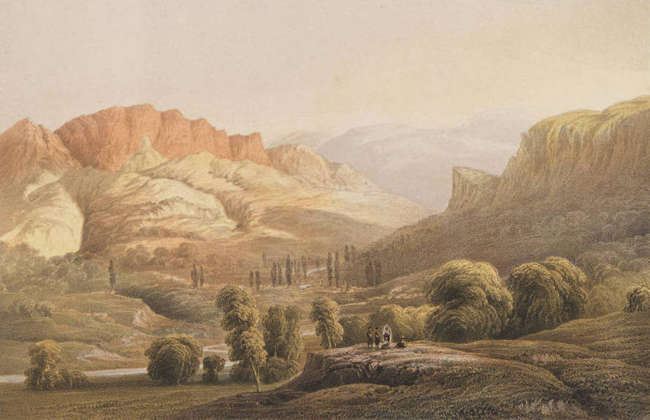 The Beautiful Scenery and Chief Places of Interest throughout the Crimea - The Valley of Kokos (1856)