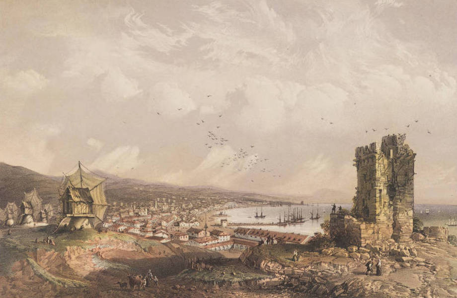 The Beautiful Scenery and Chief Places of Interest throughout the Crimea - Kaffa or Theodosia (1856)