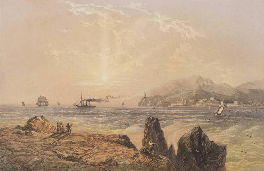 The Beautiful Scenery and Chief Places of Interest throughout the Crimea - The Bosphorus (1856)