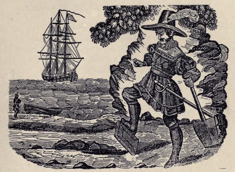 The Book of Buried Treasure - Captain Kidd burying his Bible (1911)