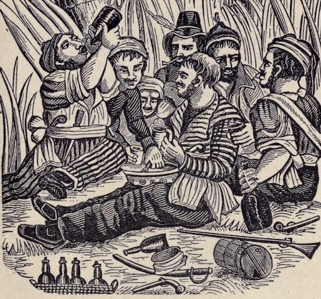 The Book of Buried Treasure - Carousing at Old Calabar River (1911)