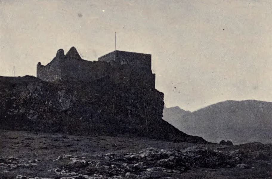 The Book of Buried Treasure - Duart Castle, chief stronghold of the MacLeans (1911)
