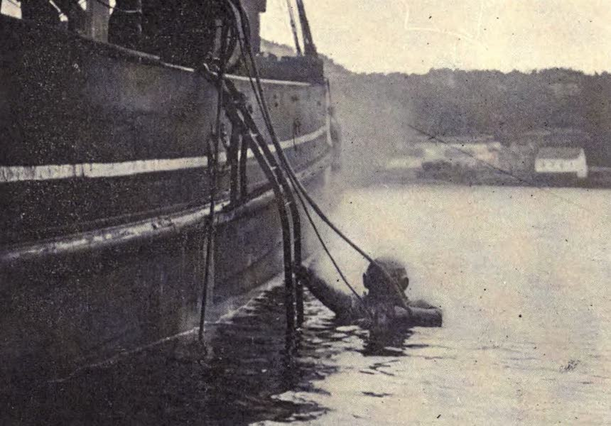 The Book of Buried Treasure - Diving to find the treasure galleon in Tobermory Bay (1911)