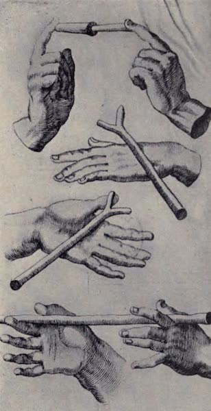 The Book of Buried Treasure - Methods of manipulating the diving rod to find buried treasure [II] (1911)