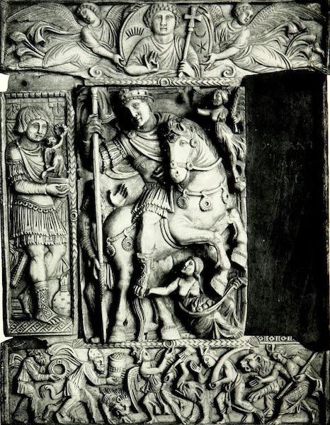 The Byzantine Empire - Justinian Triumphant (Ivory) (1910)