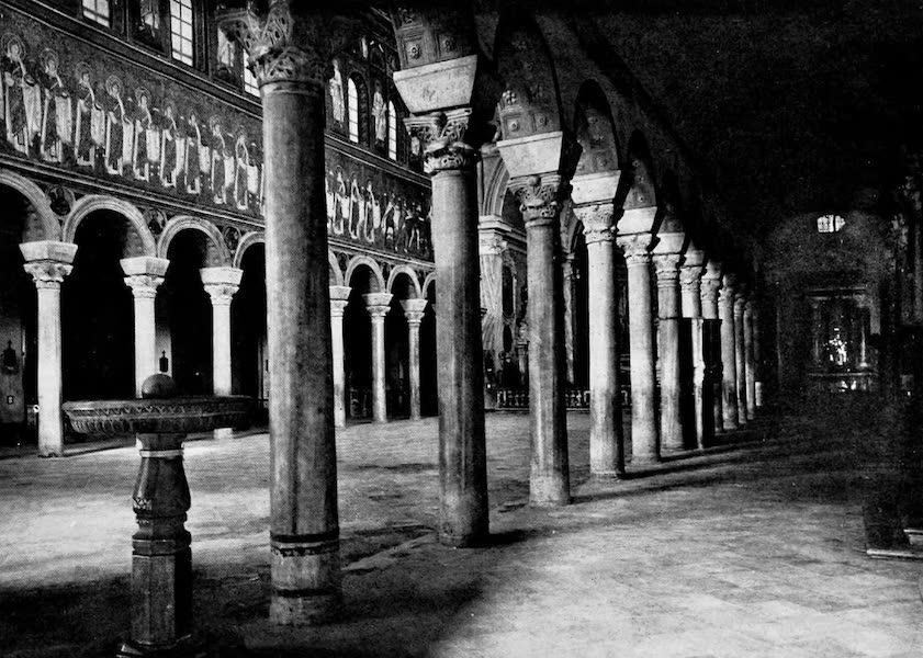The Byzantine Empire - Church of Apollinare Nuovo, Ravenna (Interior) (1910)