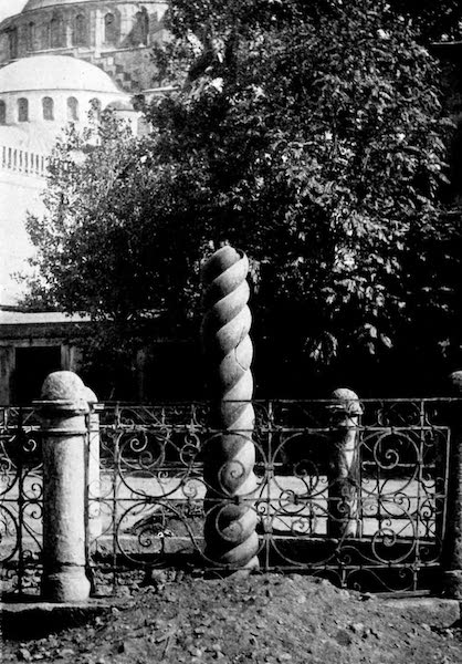 The Byzantine Empire - Column of the Serpents, Constantinople (1910)