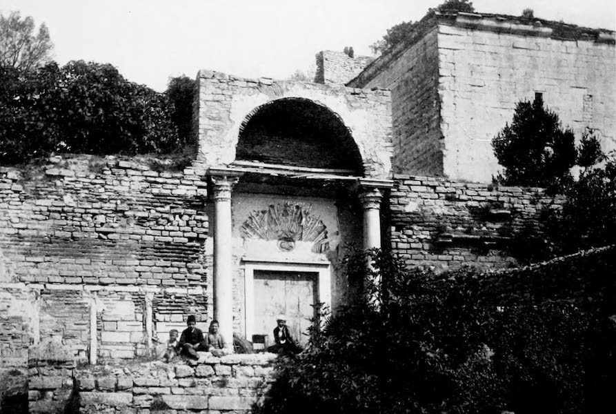 The Byzantine Empire - The Golden Gate, Constantinople (1910)