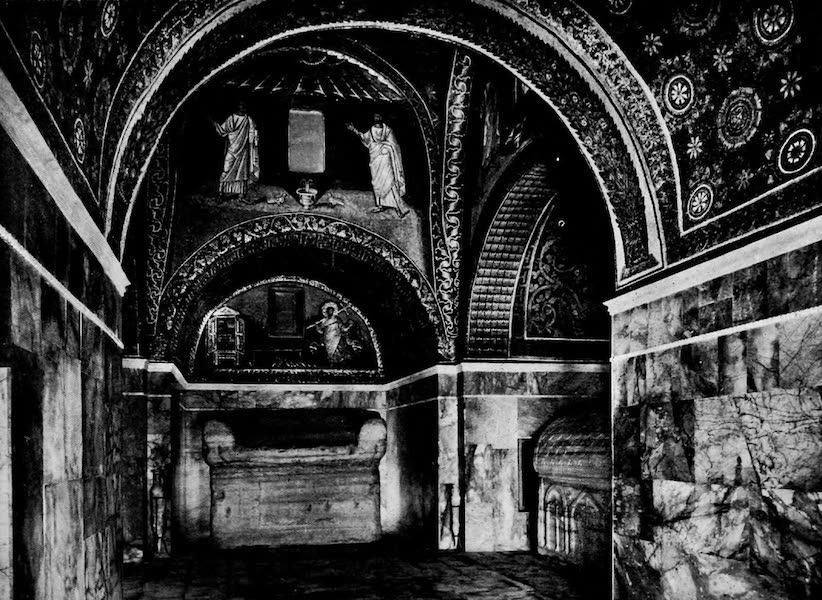The Byzantine Empire - Mausoleum of Galla Placidia, Ravenna (1910)