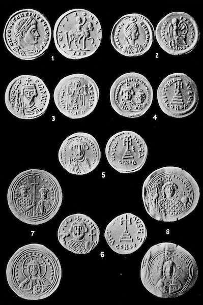The Byzantine Empire - Byzantine Coins (1910)