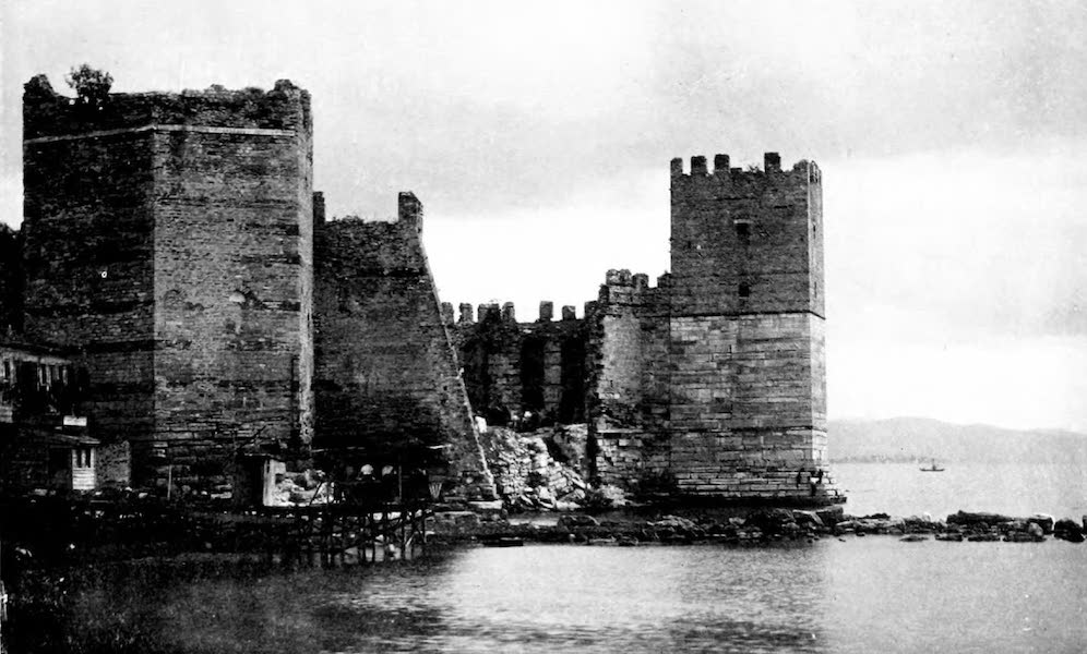 The Byzantine Empire - The Marble Tower, Constantinople (1910)