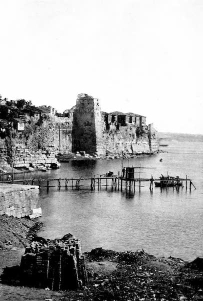 The Byzantine Empire - Harbour of Bucoleon, Constantinople (1910)