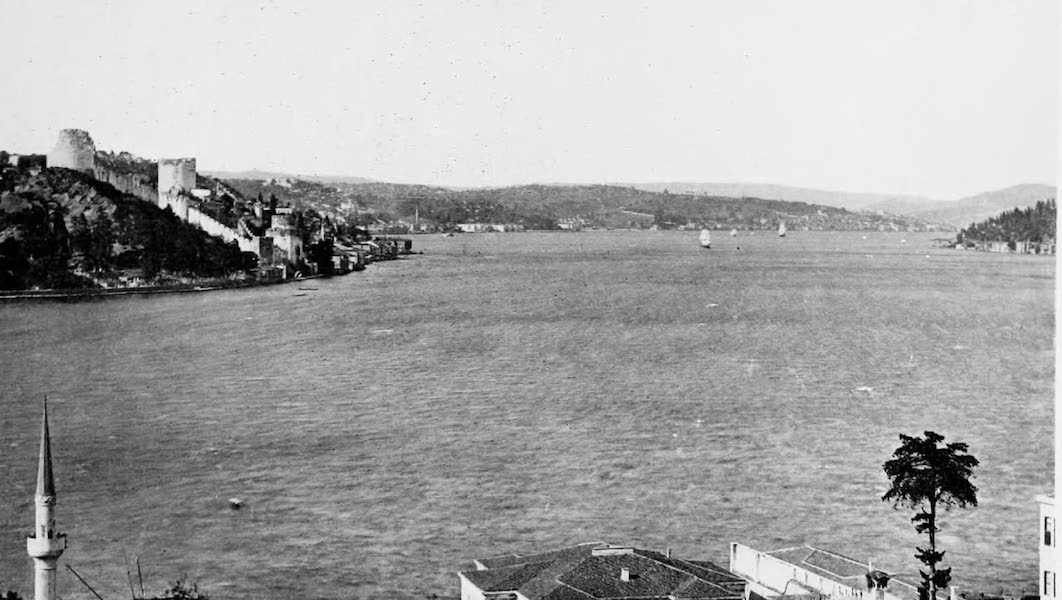 The Byzantine Empire - The Bosphorus and Castle of Europe, Constantinople (1910)