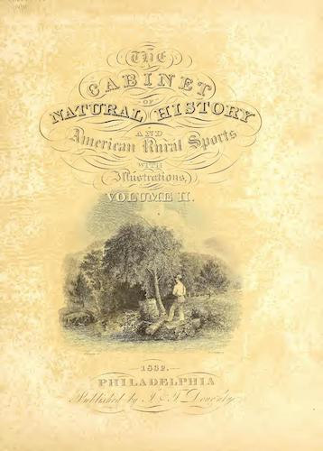 American Southwest - The Cabinet of Natural History & American Rural Sports Vol. 2