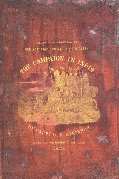 The Campaign in India - Front Cover (1859)