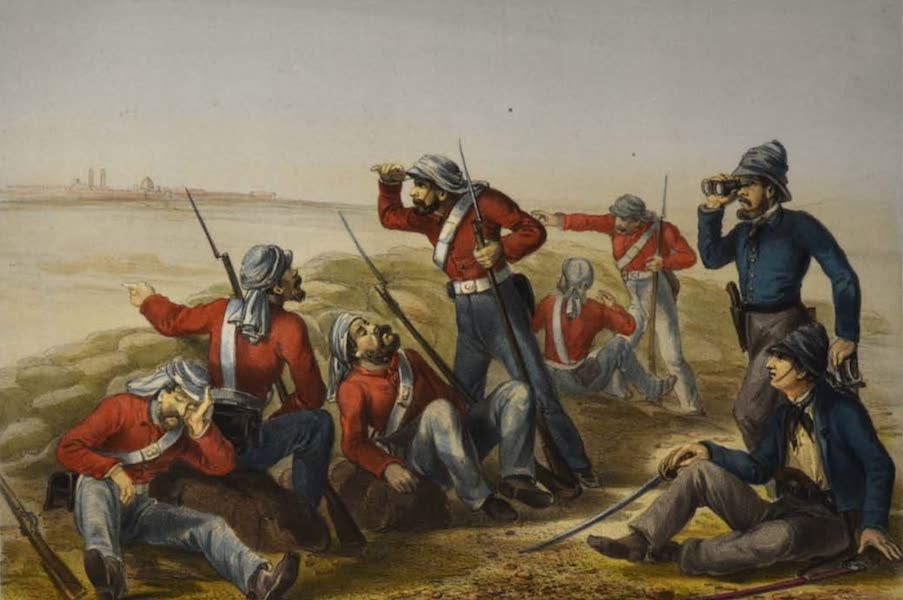 The Campaign in India - The Outlying Picket (1859)