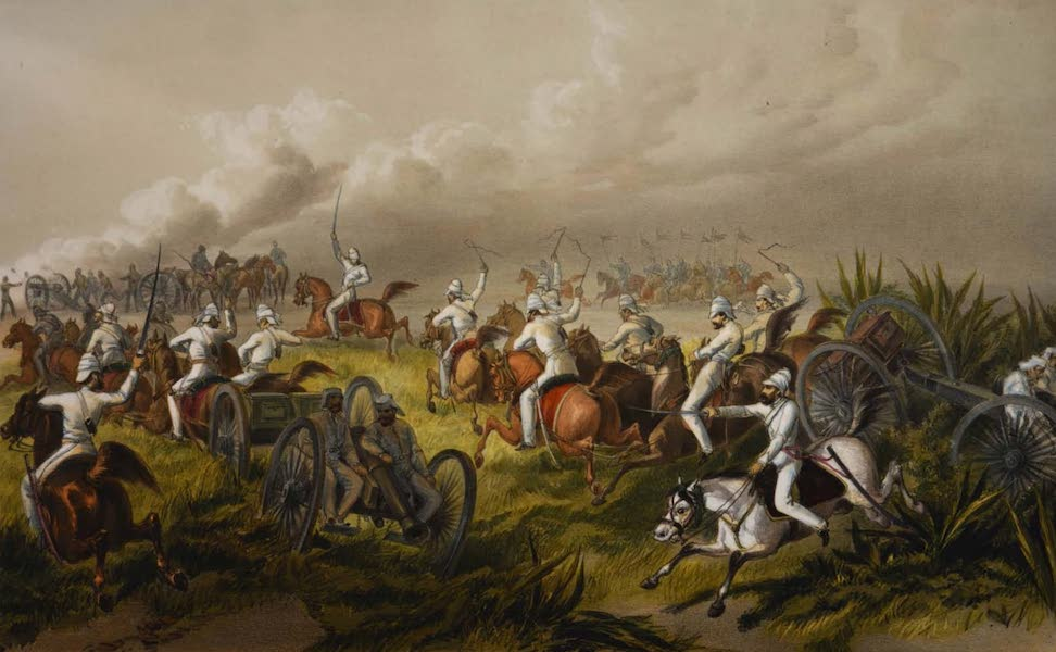 The Campaign in India - Horse Artillery in Action (1859)