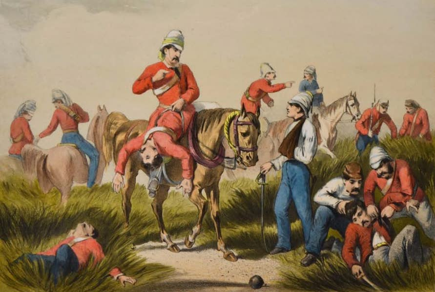 The Campaign in India - Search for the Wounded (1859)