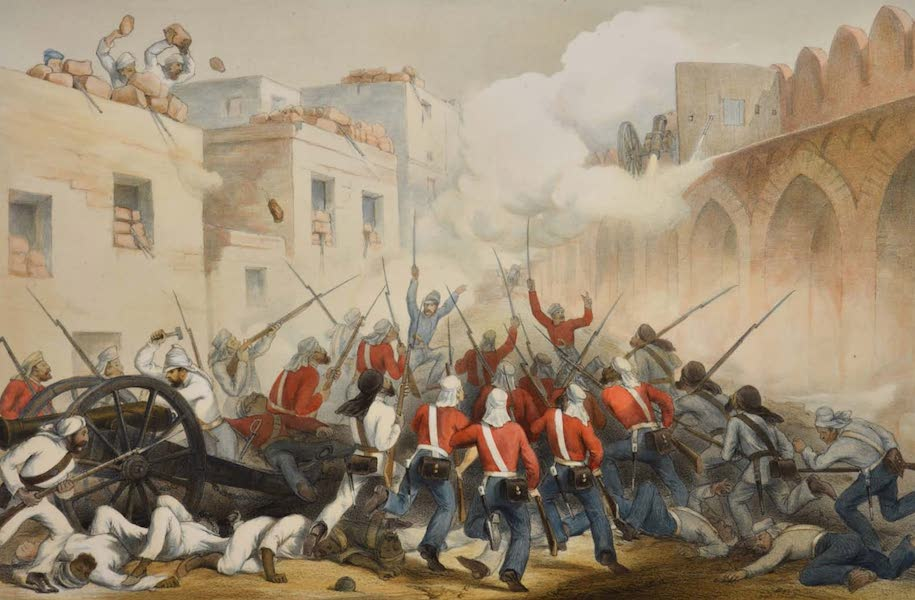 The Campaign in India - The Storming of Delhi (1859)