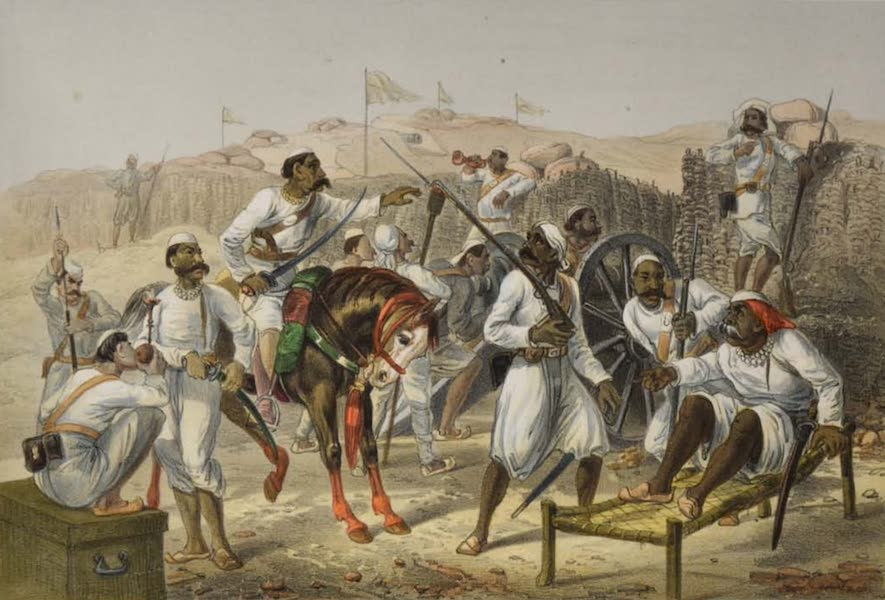 The Campaign in India - Mutinous Sepoys (1859)
