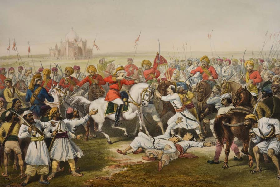 The Campaign in India - Capture And Death of the Shahzadahs  (1859)