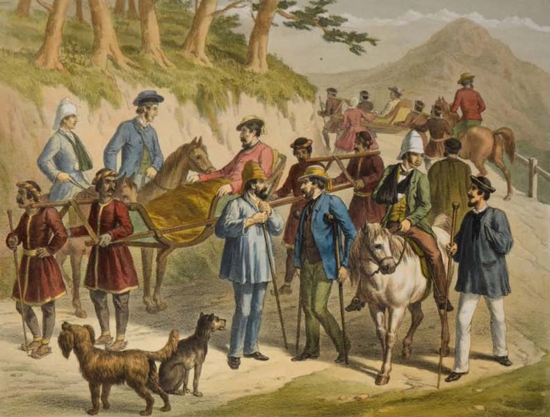 The Campaign in India - Wounded Officers at Simla (1859)