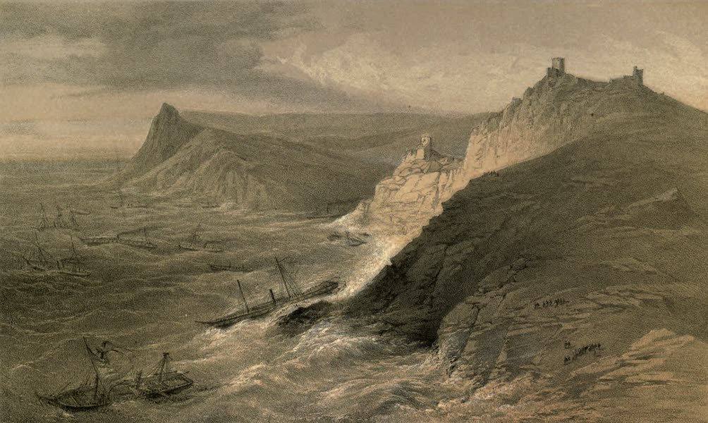 The Campaign in the Crimea [Series I] - The Gale off the Port of Balaklava (1855)
